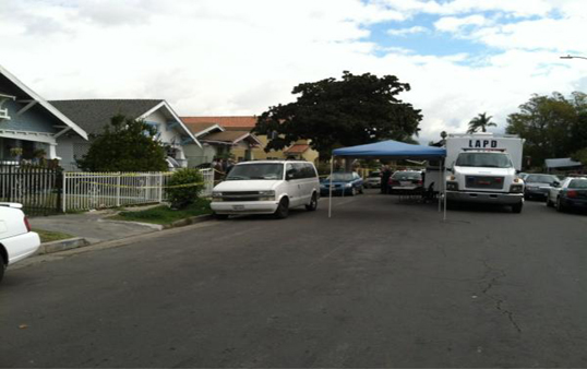 Police investigating home of girls in critical condition. (Photo courtesy of ATVN)