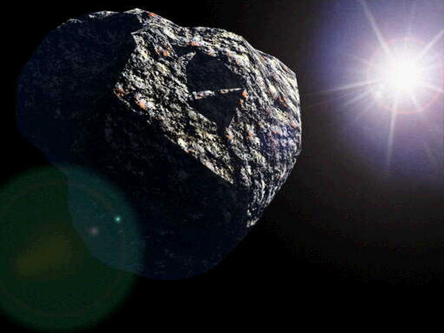 An asteroid will come within 17,200 miles of Earth. (AP)