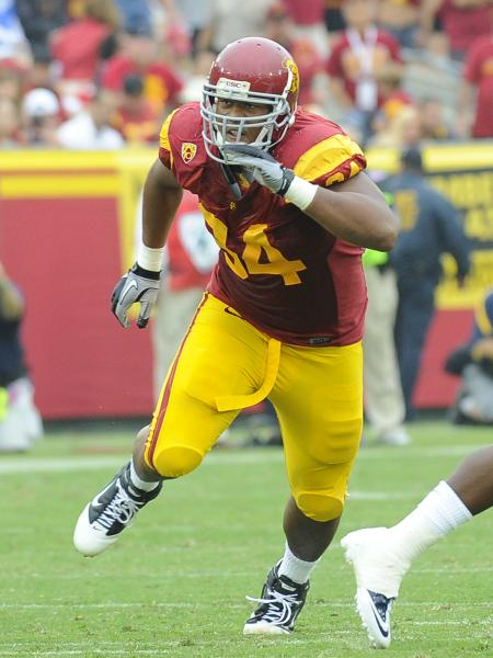 Armstead, 22, played for USC from 2008 to 2010.