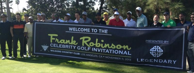 Celebrities played golf at the Wilshire Country Club to support the MLB Urban Youth Academy. (ATVN/Ani Uncar)