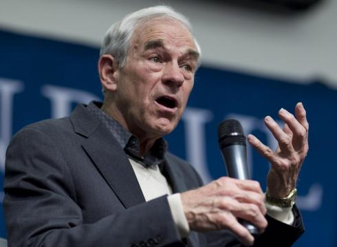 Ron Paul will visit UCLA as part of his three-day tour in California(Courtesy of AP)