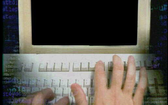 HAND TYPING BLANK COMPUTER  ... of a woman's pregnancy until her child's second birthday has the biggest ...