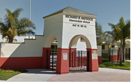 Haydock School is investigating one of their teachers for allegedly having another job as a porn star. (Photo courtesy Google Maps)