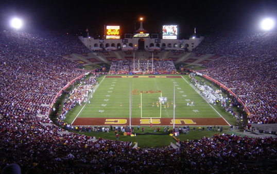 USC's lease with the Coliseum Commission was released to the public Tuesday (Photo courtesy AP).