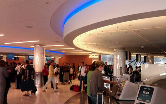 New LAX Alaskan Airlines Terminal (Photo courtesy of LAX)
