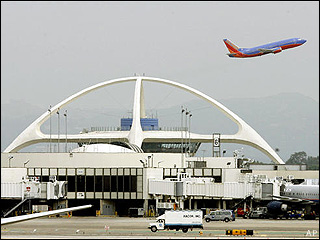The government shutdown has had little effect on LAX. (AP)