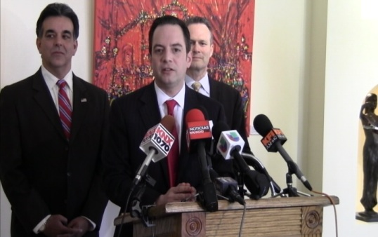Priebus urges to unite minority Republican leaders in California (Eric Ruble/ATVN)