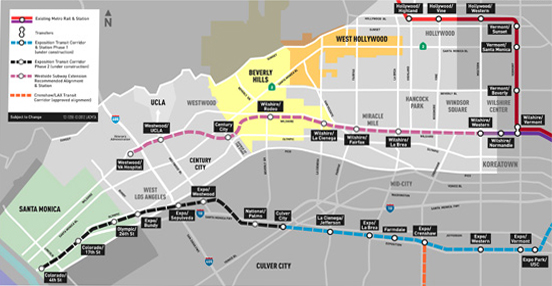 Purple Line Extension Project (Photo courtesy Metro)