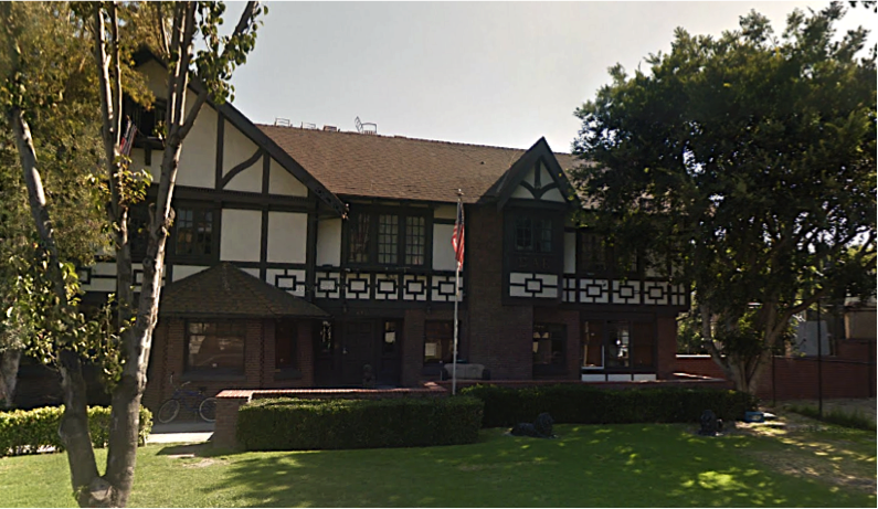The Sigma Alpha Epsilon chapter-house on The Row at USC.