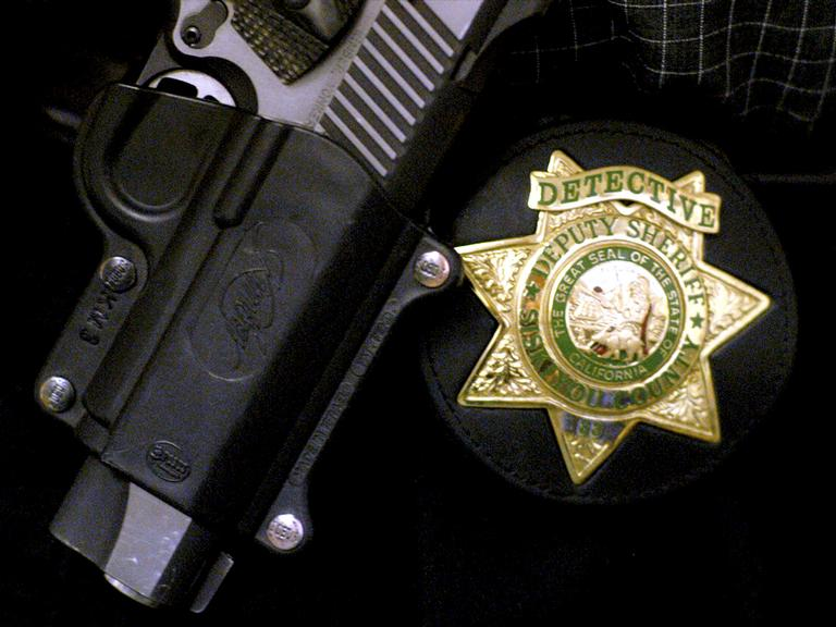 L.A. Sheriff detectives are investigating a report of a man impersonating a deputy. (Photo Courtesy AP)