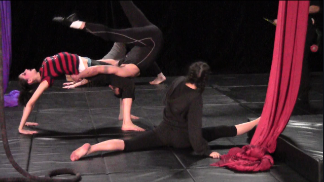Teens train at Kinetic Theory Circus Arts (ATVN).