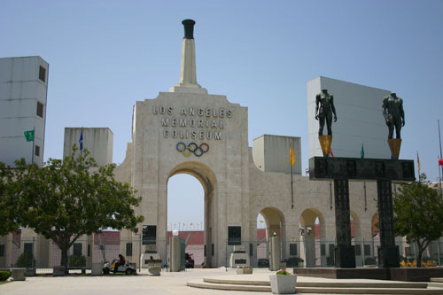 L.A. Memorial Coliseum former general manager Patrick Lynch plead guilty to a conflict of interest charge Wednesday (Photo courtesy ATVN).