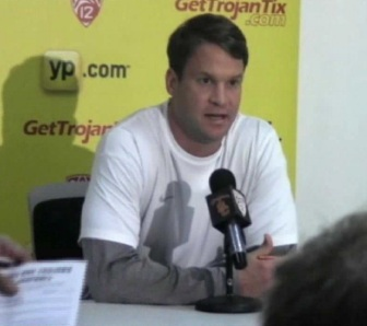Lane Kiffin addresses the media at the conclusion of National Signing Day. (ATVN)