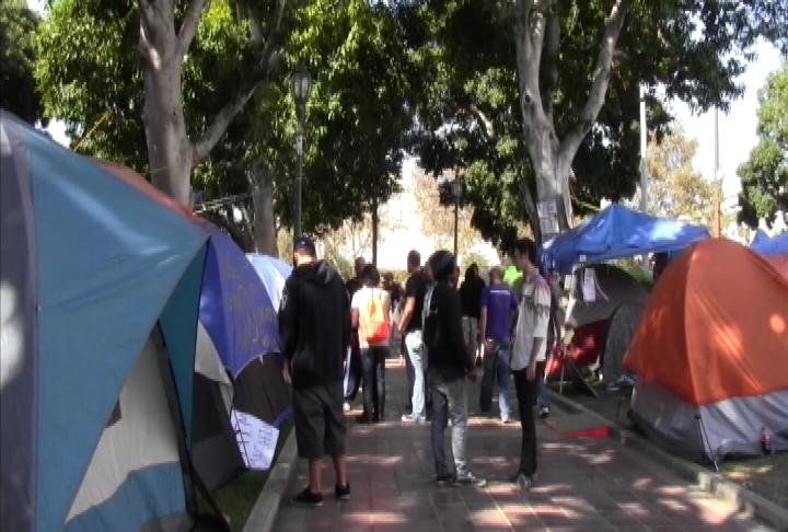 Occupy LA Protests at City Hall (ATVN)