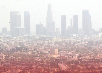 Pollution in Los Angeles is the highest in the nation.