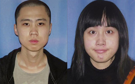 Ming Qu, 23, and Ying Wu, 23. Courtesy LAPD.