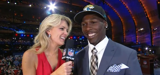 """I'm ready to get started,"" - Marqise Lee on being drafted by the Jacksonville Jaguars."