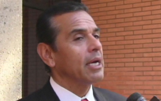 Mayor Villaraigosa, Chief Beck and President Nikias will discuss campus safety at a press conference on Thursday (Photo courtesy ATVN).